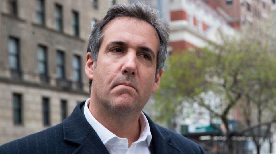 Michael Cohen appeared in federal court in Manhattan on Monday to argue that material seized from his office and home by the FBI last week should be protected by attorney-client privilege. (Mary Altaffer / Associated Press)