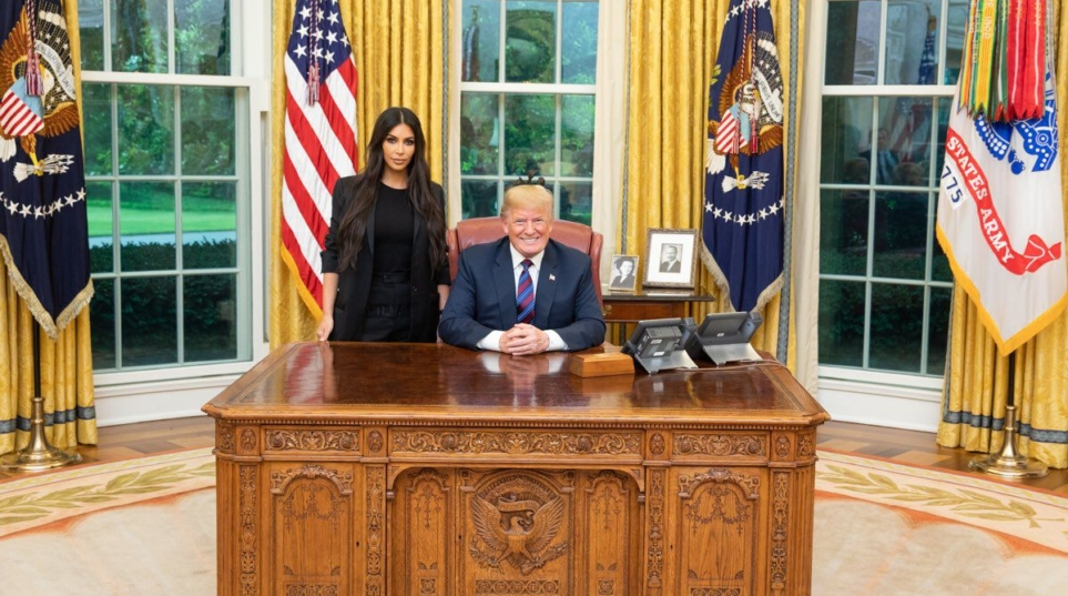 Trump commutes sentence of grandmother serving life on drug charges after Kim Kardashian meeting